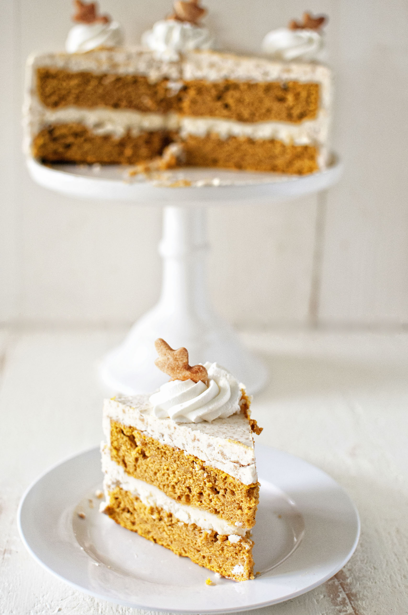 Brown Butter Pumpkin Pie Layer Cake