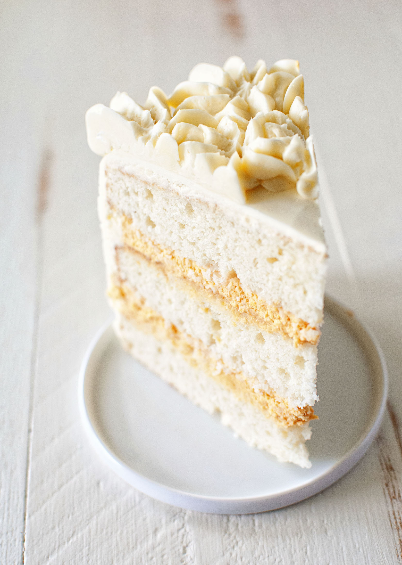 Buttermilk Bourbon Pumpkin Cheesecake Layer Cake