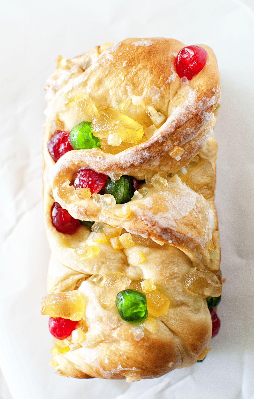 Fruitcake Babka