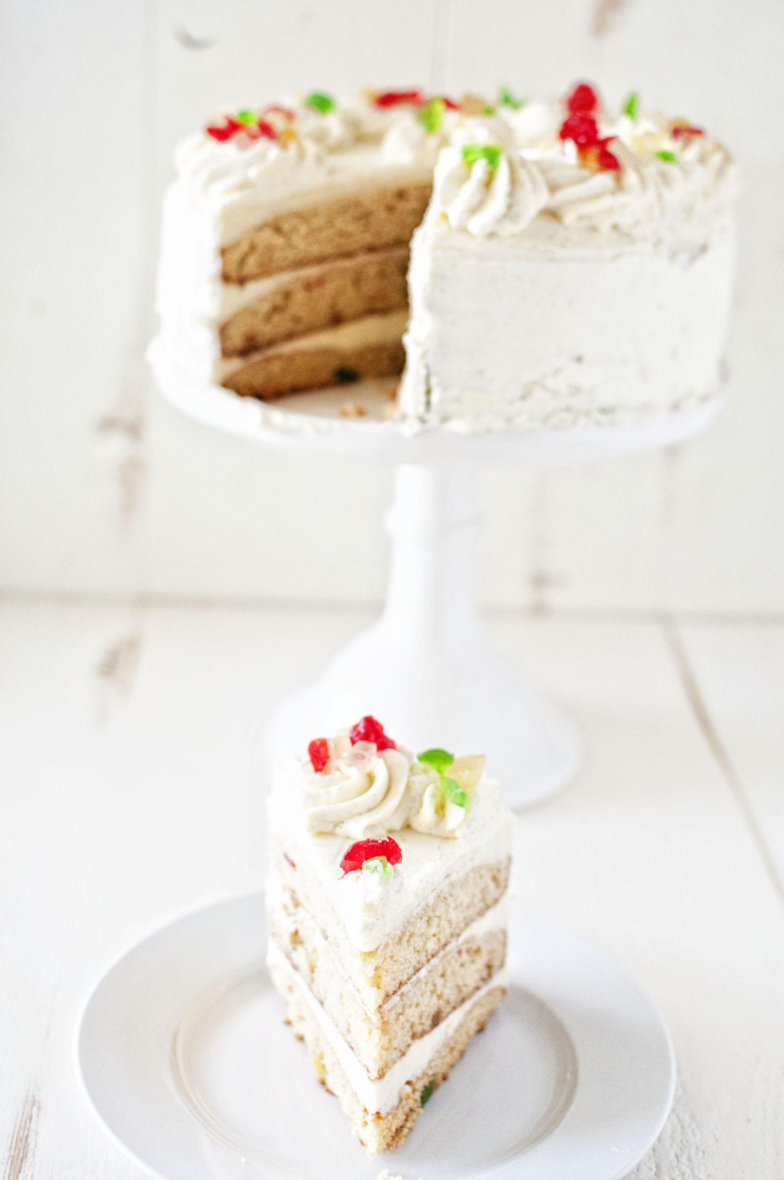 Fruitcake Layer Cake