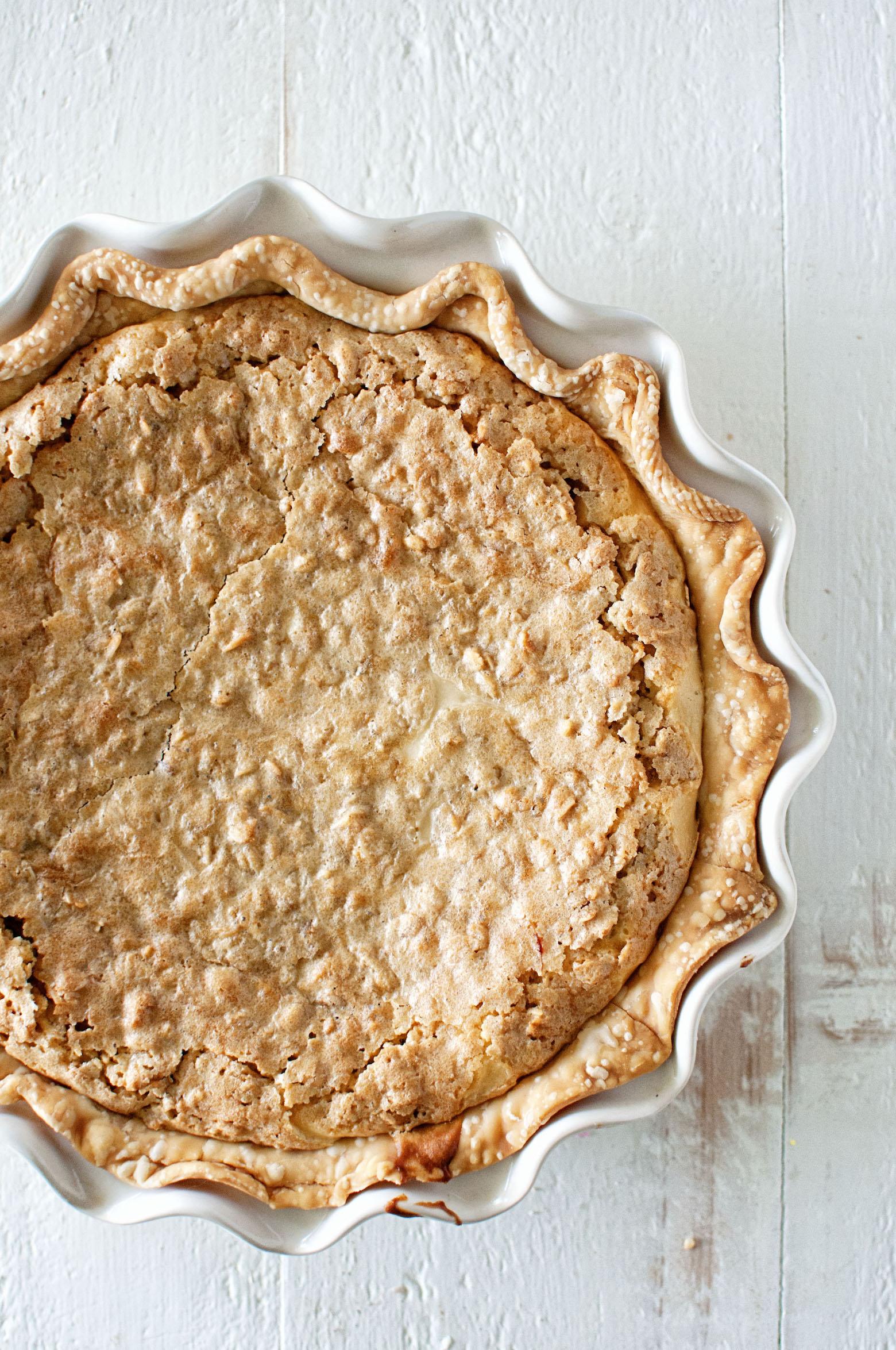 Oatmeal Cookie Irish Cream Cheesecake Pie