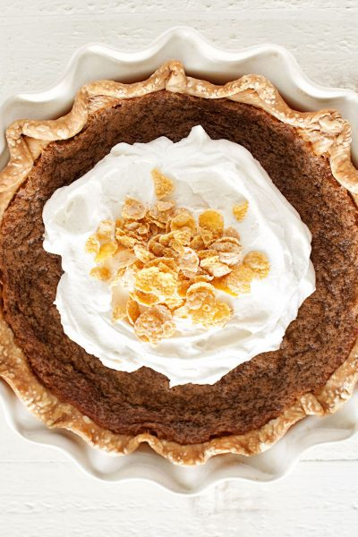 Cereal Milk Chess Pie
