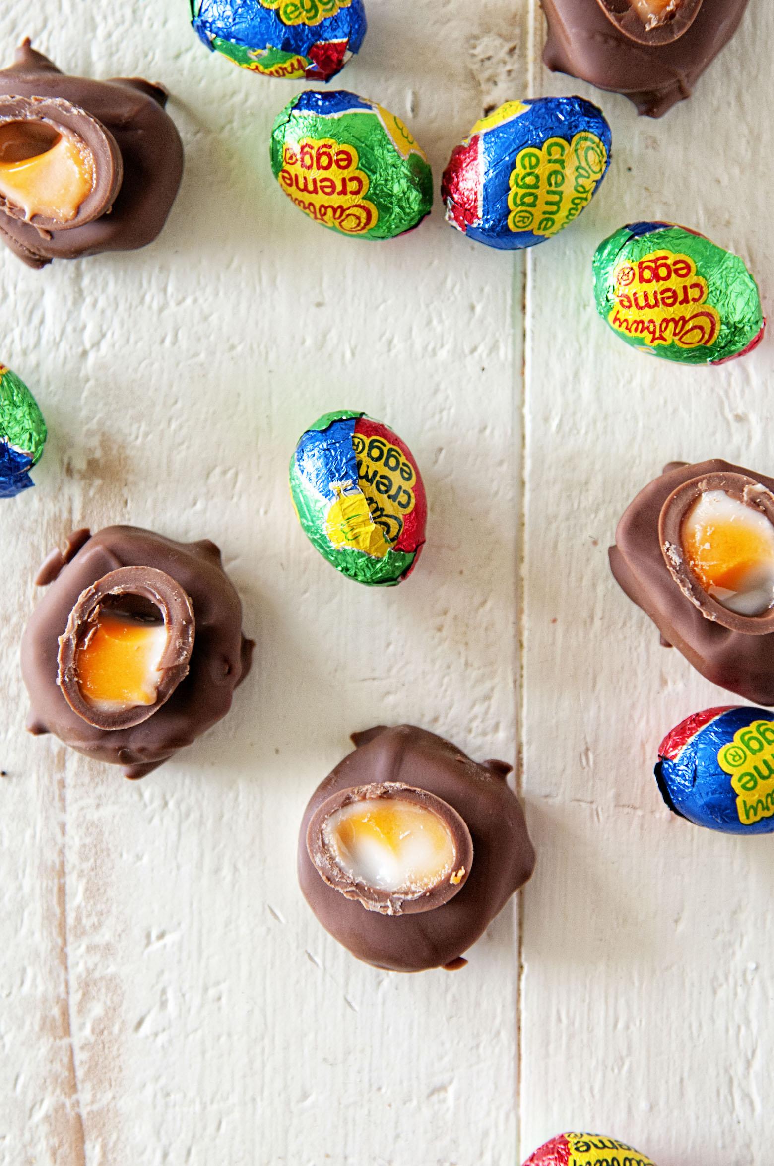 Cadbury Creme Egg Patties