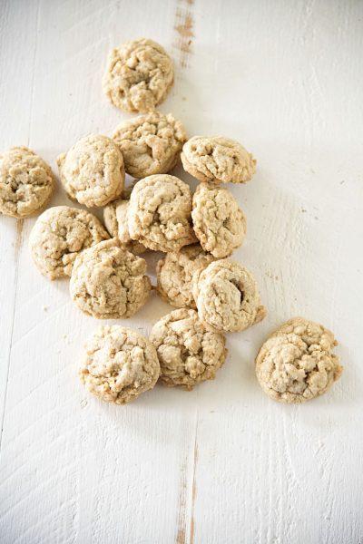 Butterscotch Salted Cashew Cookies