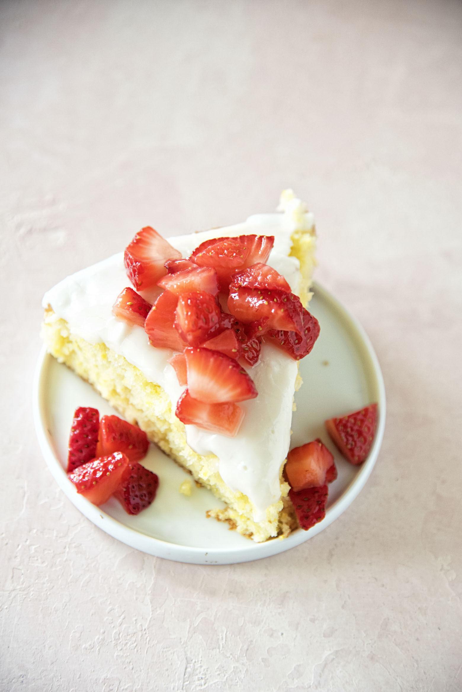 Key Lime Cornmeal Cake
