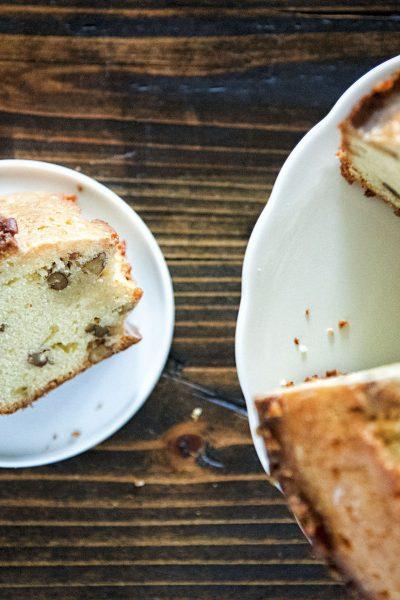 Maple Whiskey Pecan Pound Cake