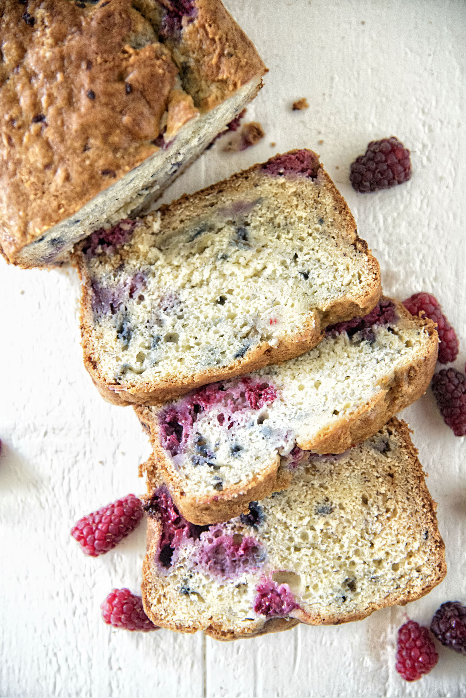 Banana Berry Bread