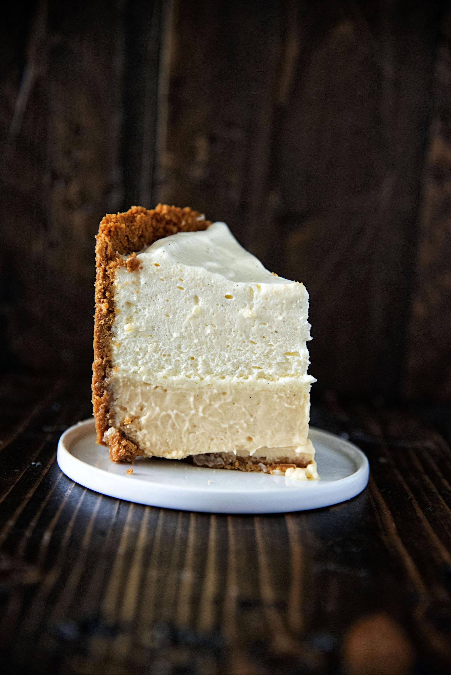 Slice of Mile High Key Lime Pie