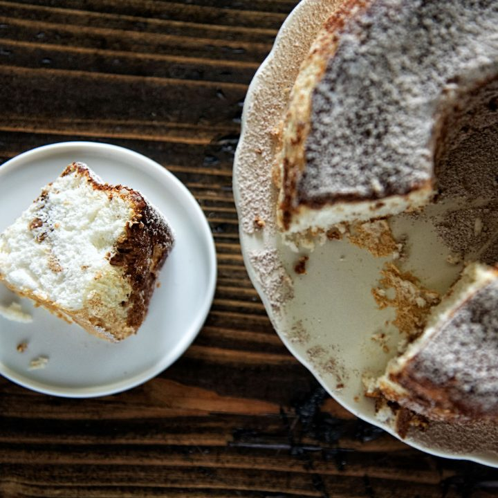 Snickerdoodle Angel Food Cake