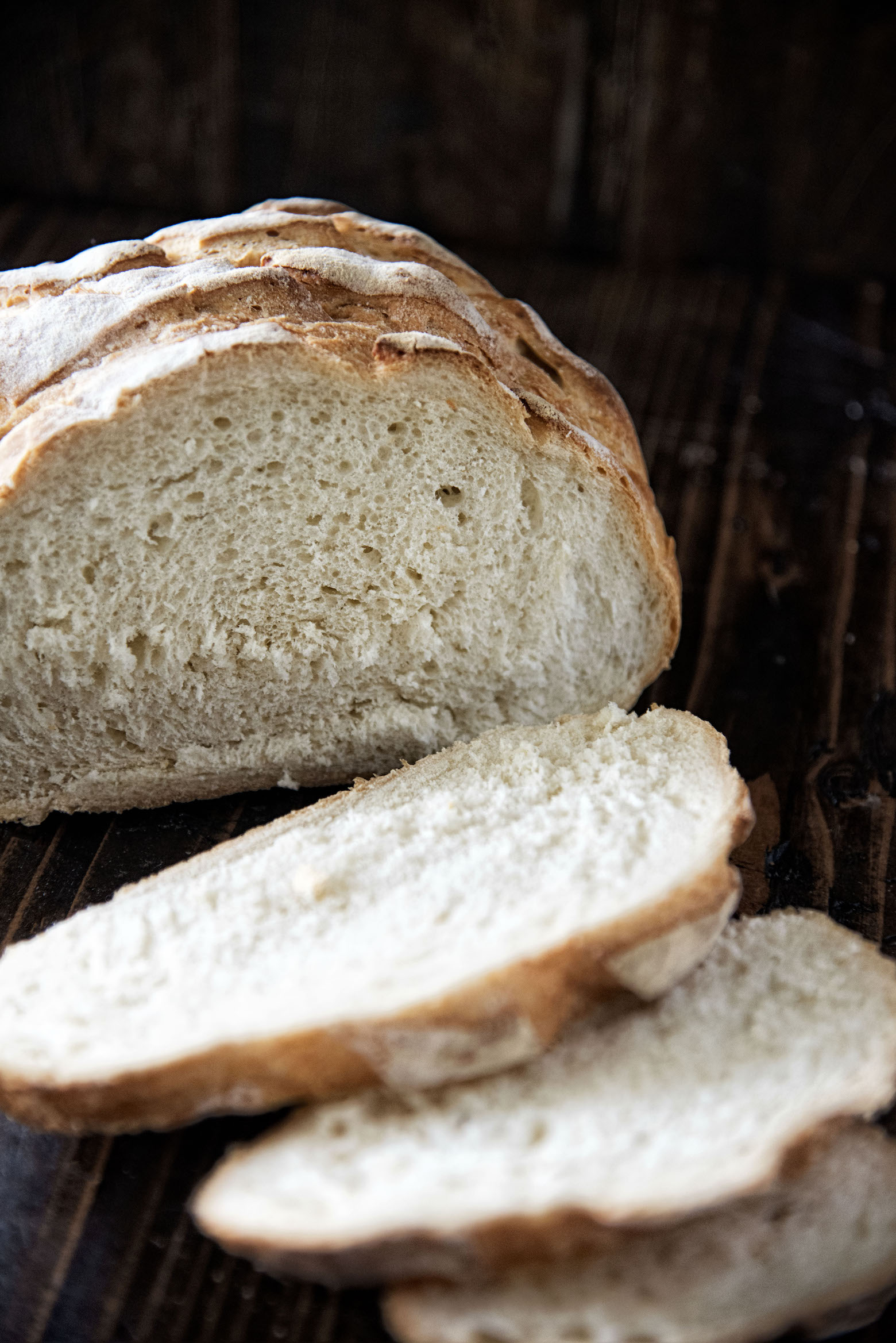 Classic Cob Bread Loaf
