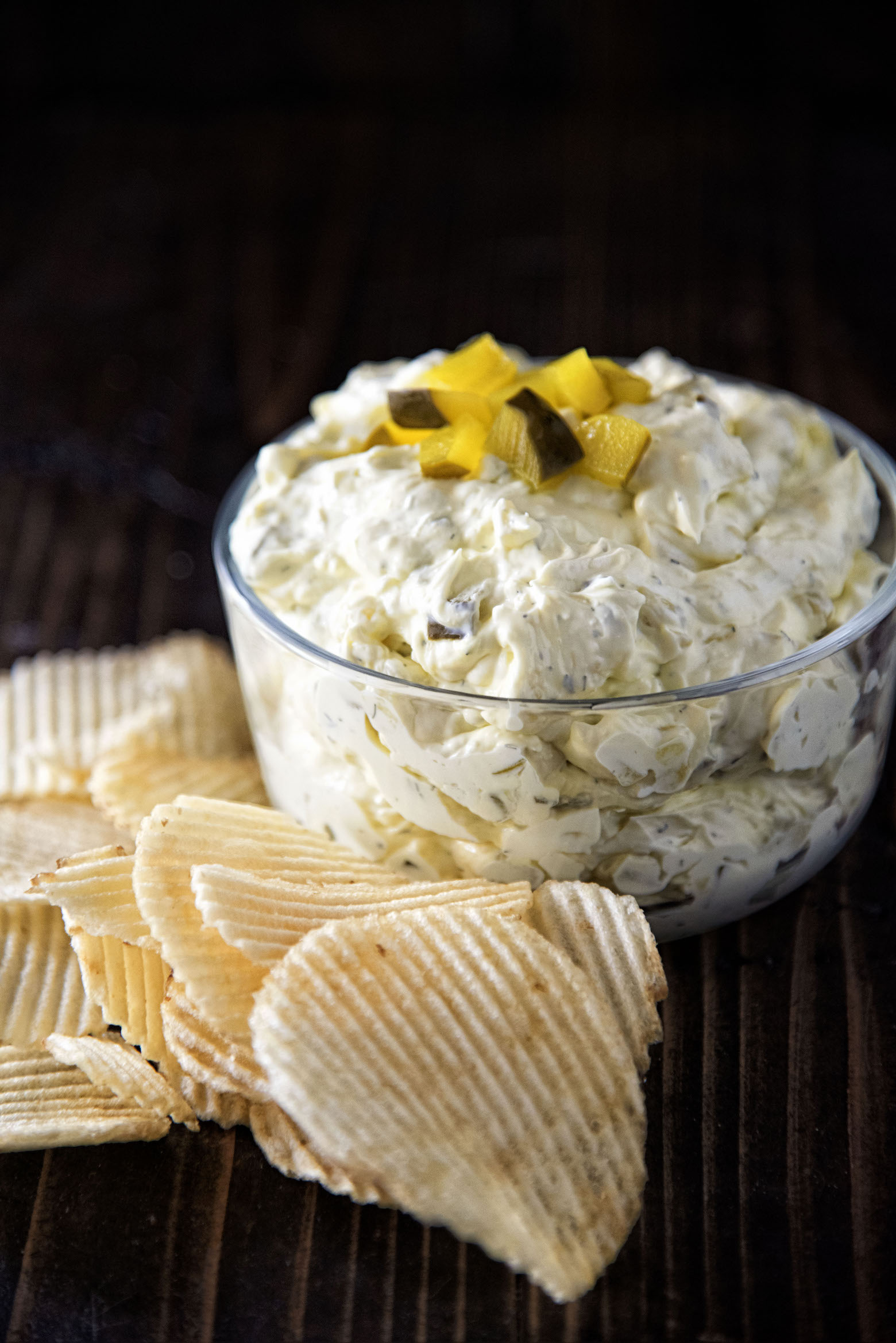 Cream Cheese Dill Pickle Dip