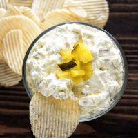 Cream Cheese Dill Pickle Dip