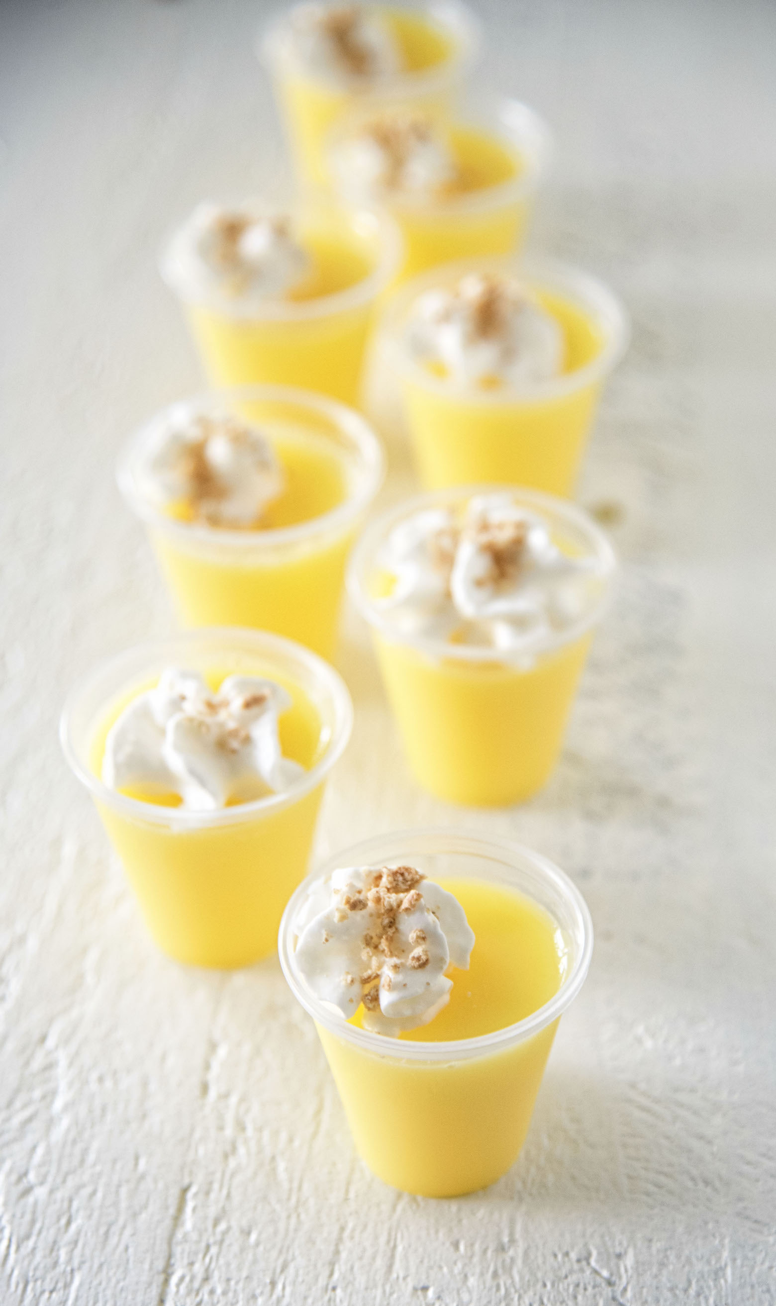 Lemon Cheesecake Jell-O Shots