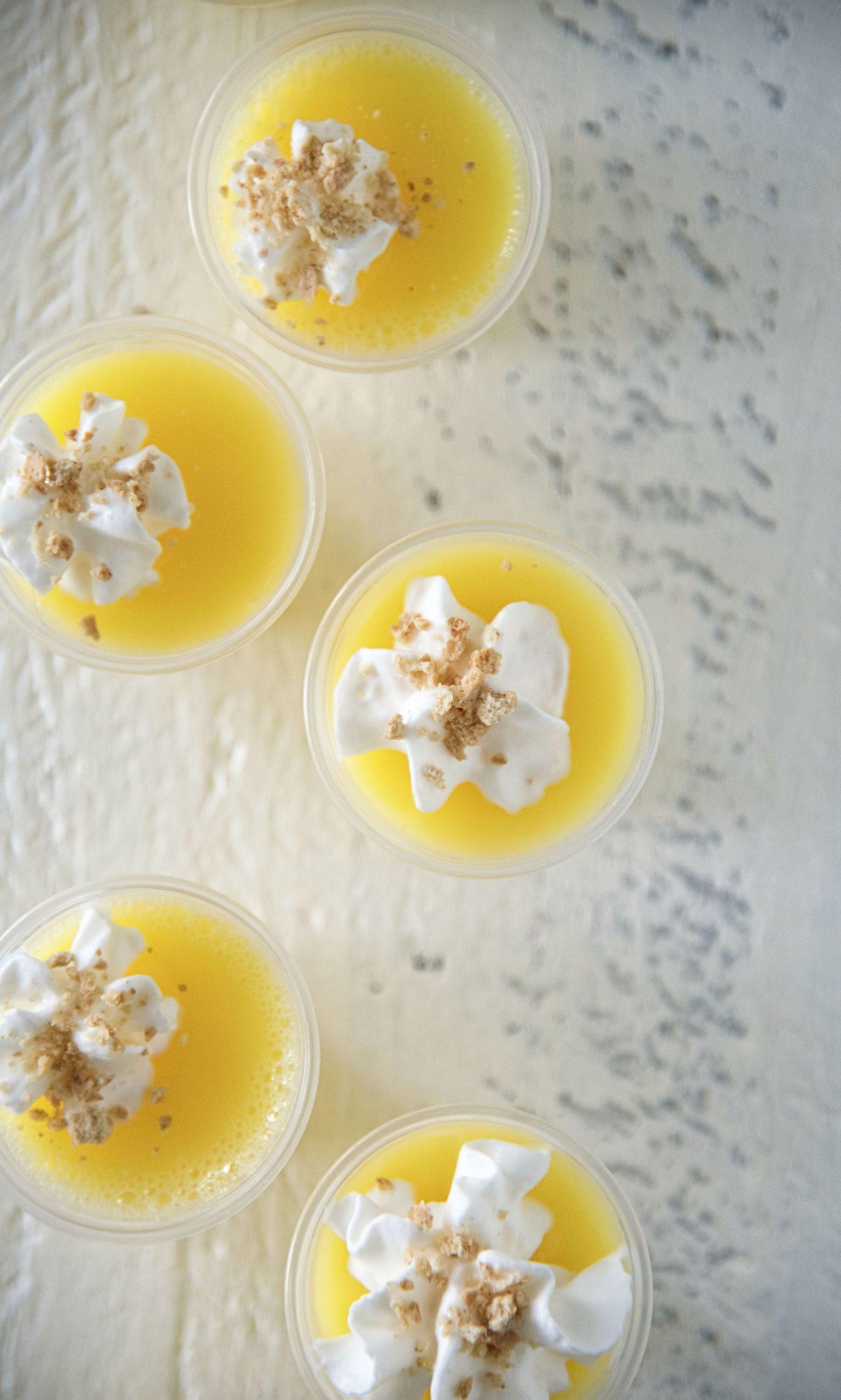 Lemon Cheesecake Jell-O Shots