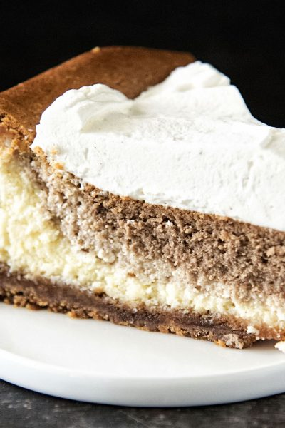 Vanilla Chai Latte Cheesecake