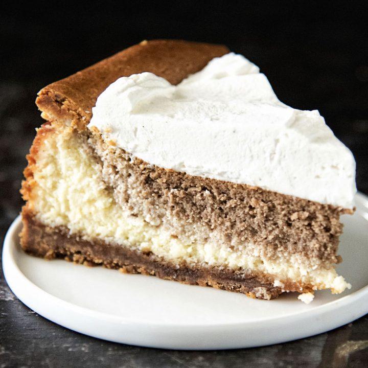 Vanilla Chai Latte Cheesecake