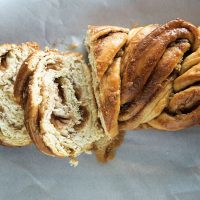 Brown Sugar Apple Cinnamon Babka