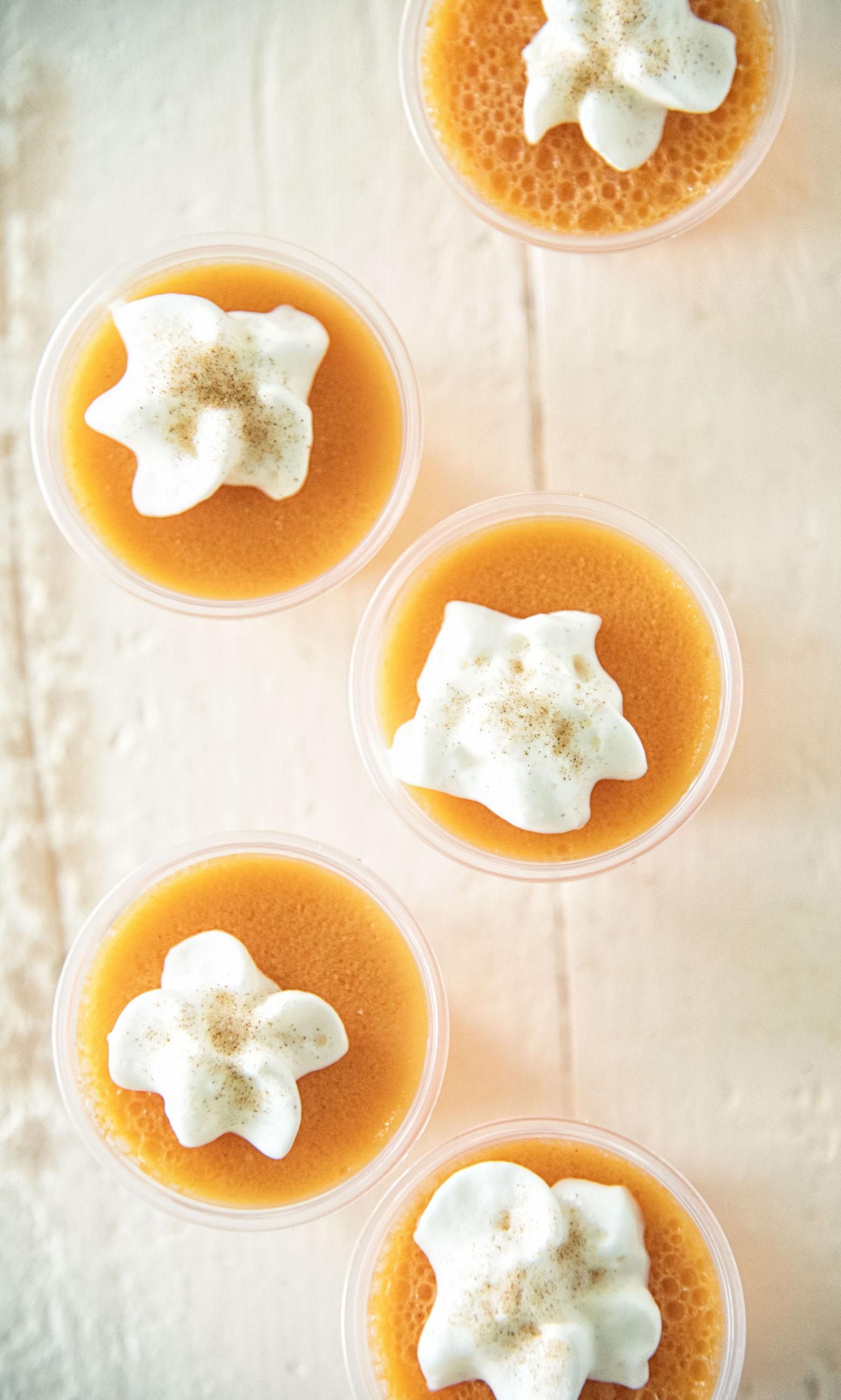 Orange Cinnamon Roll Jell-O Shot