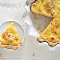 Pimento Cheese and Cornbread Quiche