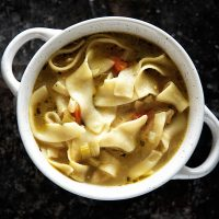 Chickenless-Chicken Noodle Soup