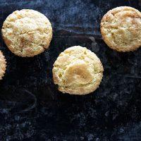 Eggnog Snickerdoodle Muffins