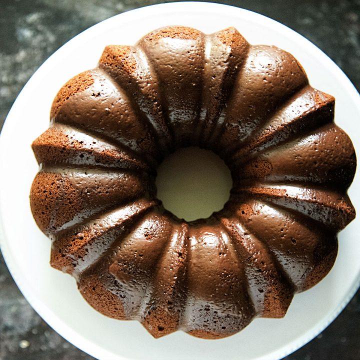 Gingerbread Spice Latte Bundt Cake