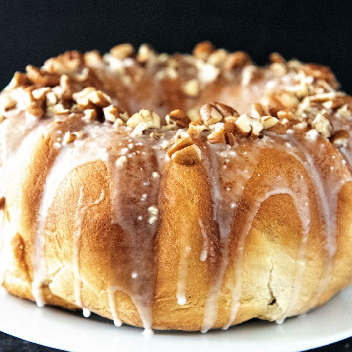 Maple Pecan Swirl Bread