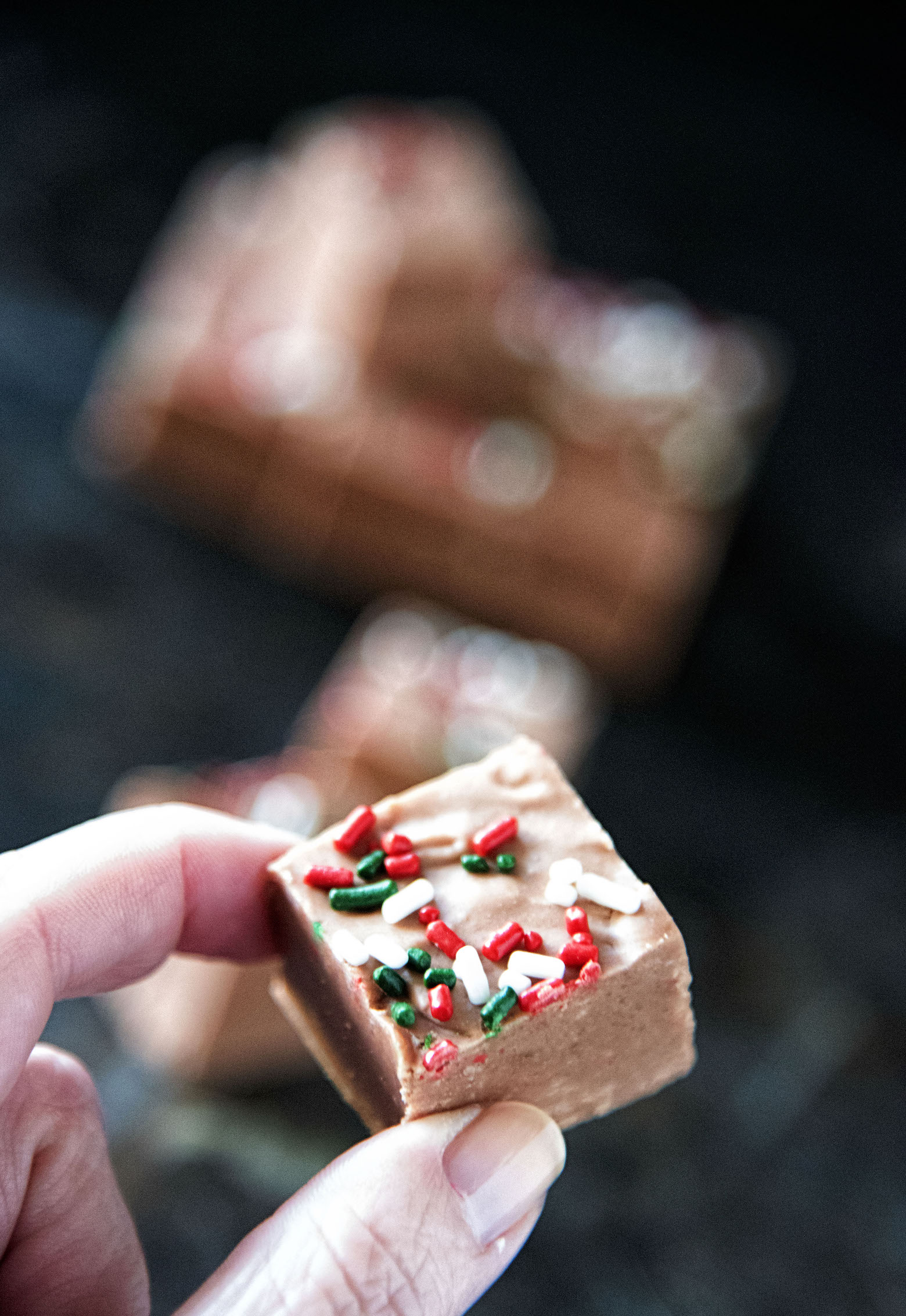 Milk Chocolate Peppermint Fudge