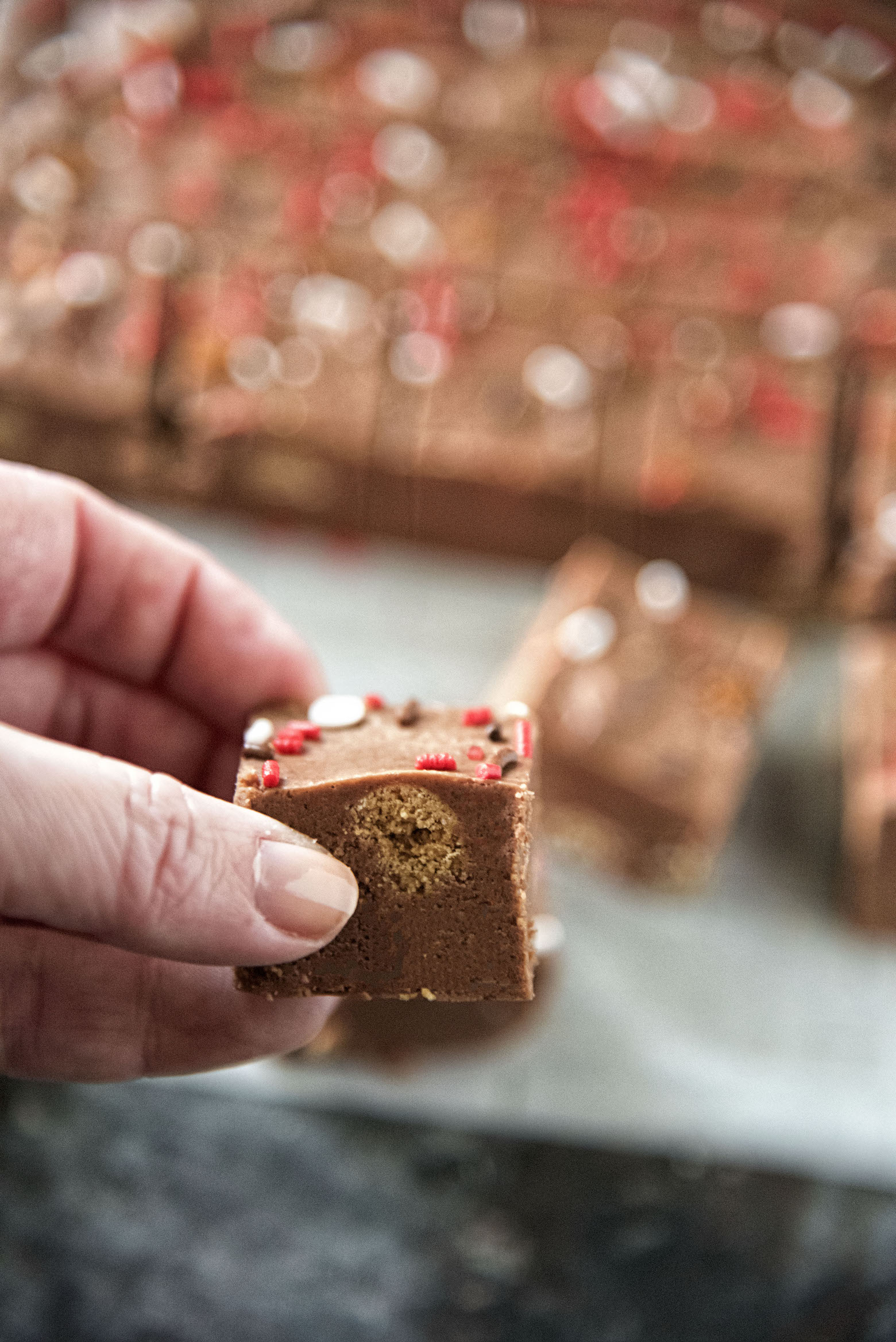 Milk Chocolate Gingerbread Fudge