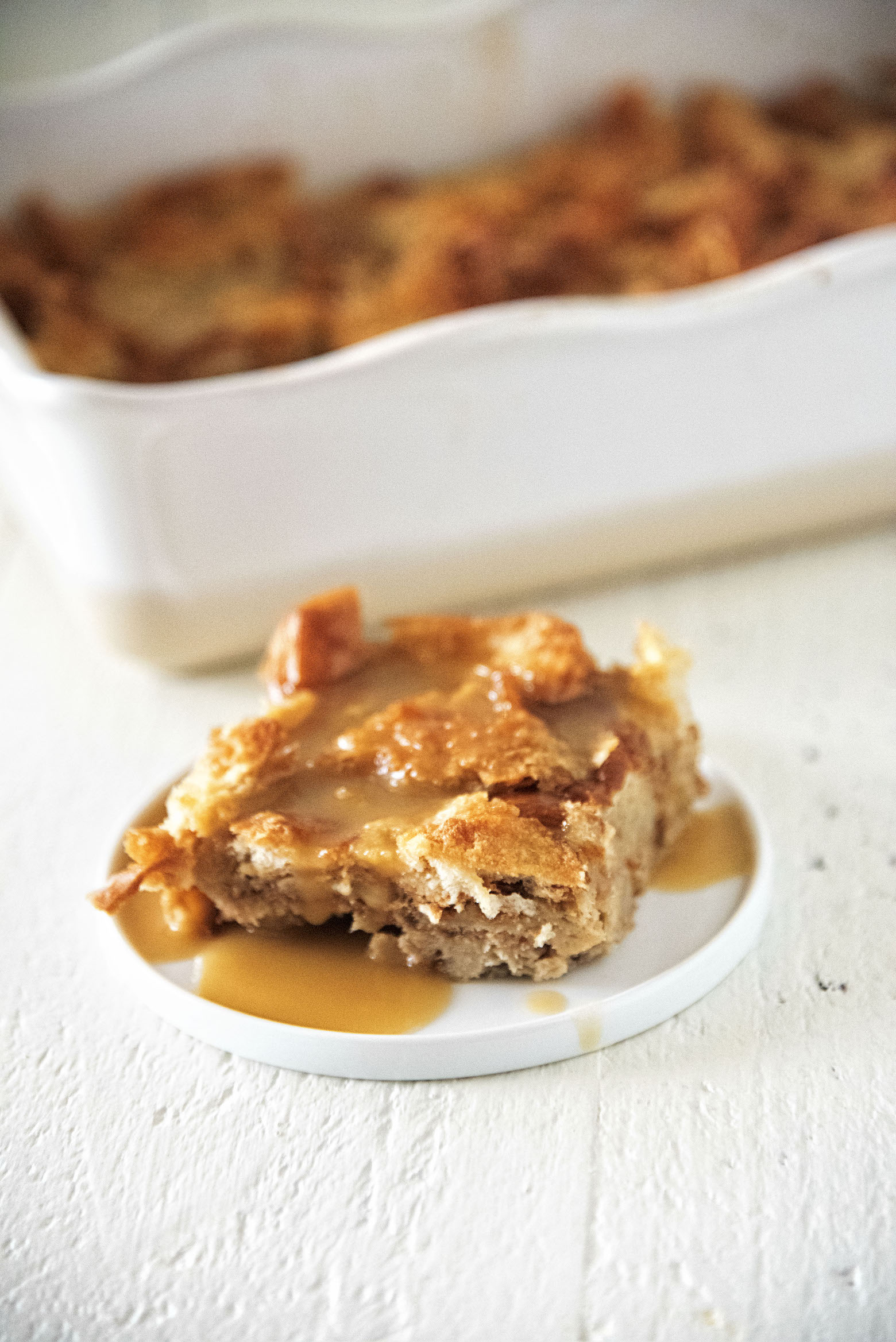 Bailey's Irish Nut Coffee Bread Pudding