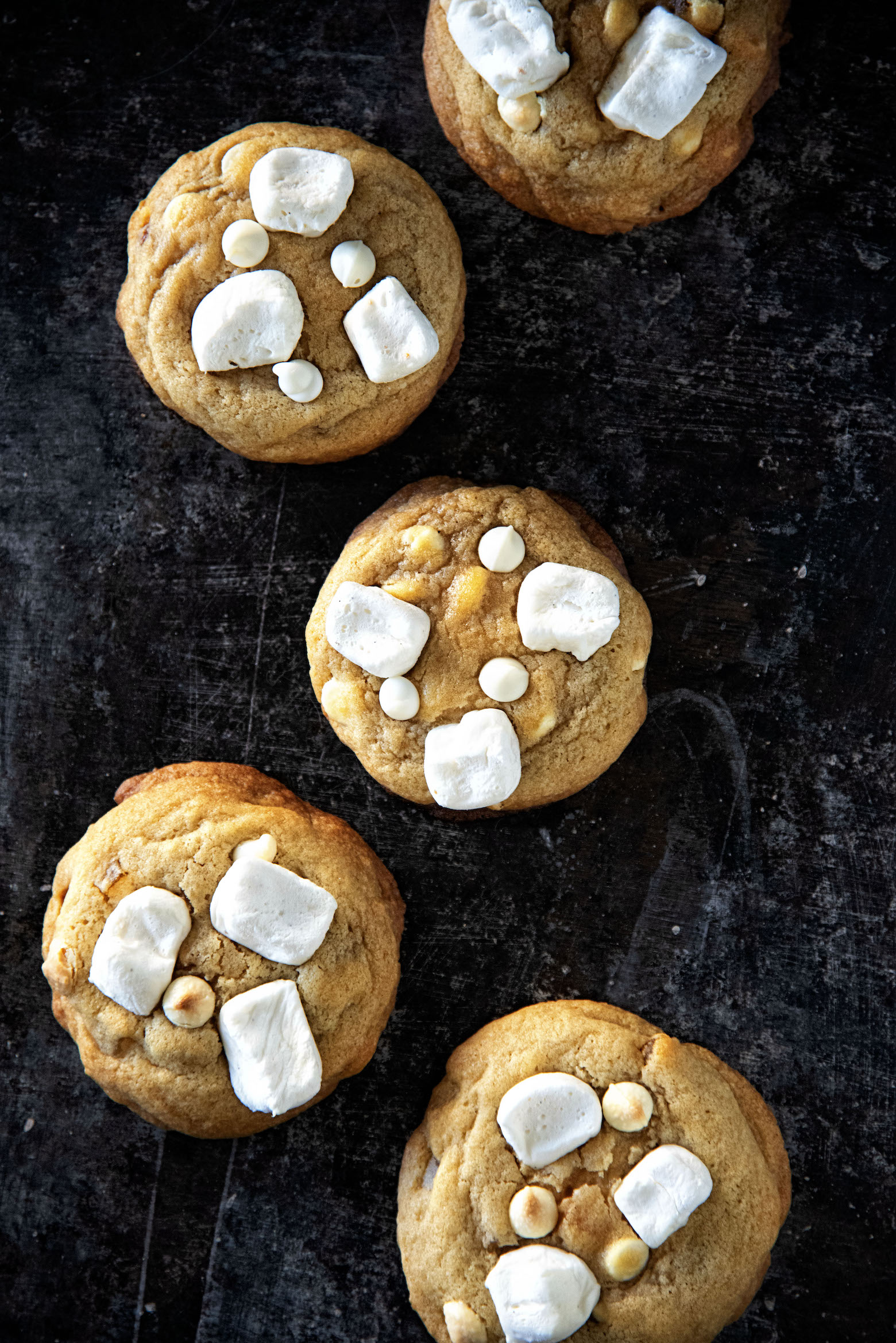 White Chocolate Chip Creamsicle Cookies
