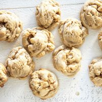 White Chocolate Dried Pineapple Salted Macadamia Nut Cookie