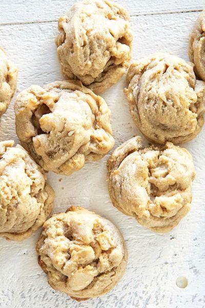 White Chocolate Dried Pineapple Salted Macadamia Nut Cookie
