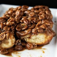 Whiskey Butterscotch Pecan Sticky Buns