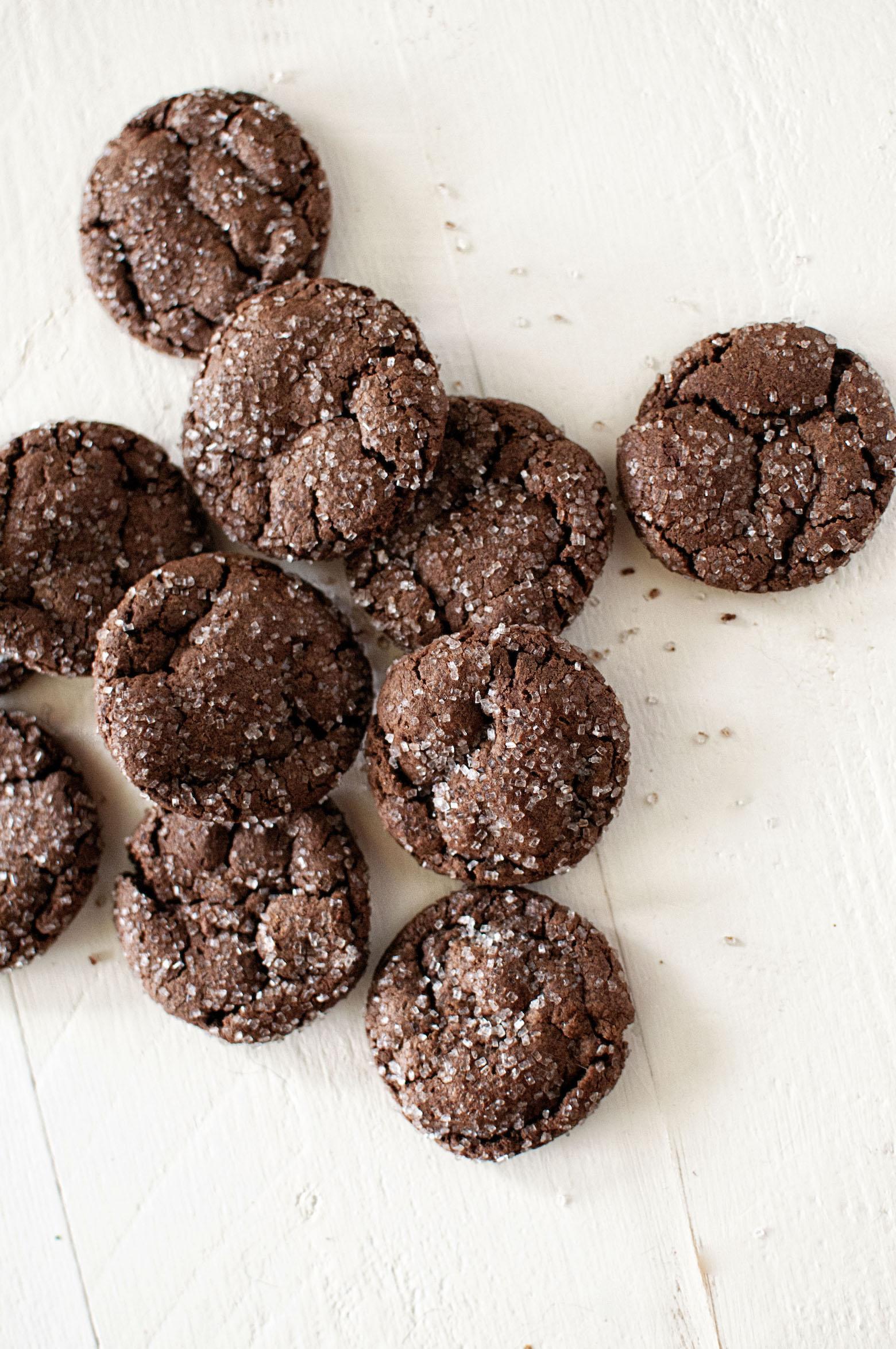 Mocha Chocolate Fudge Snaps