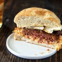 Peach Sweet Tea Southern Veggie Burger