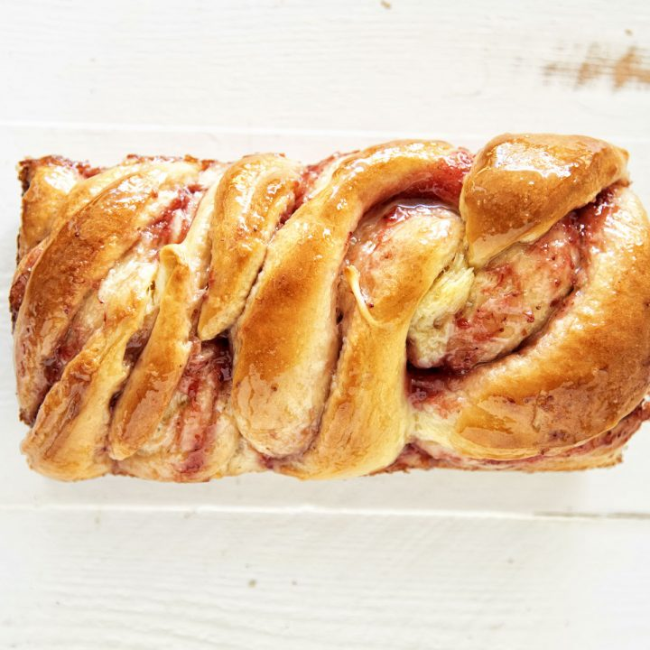 Strawberry Lemonade Babka