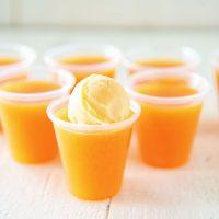 Orange Sherbet Jell-O Shot