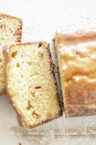 Orange Sherbet Loaf Cake