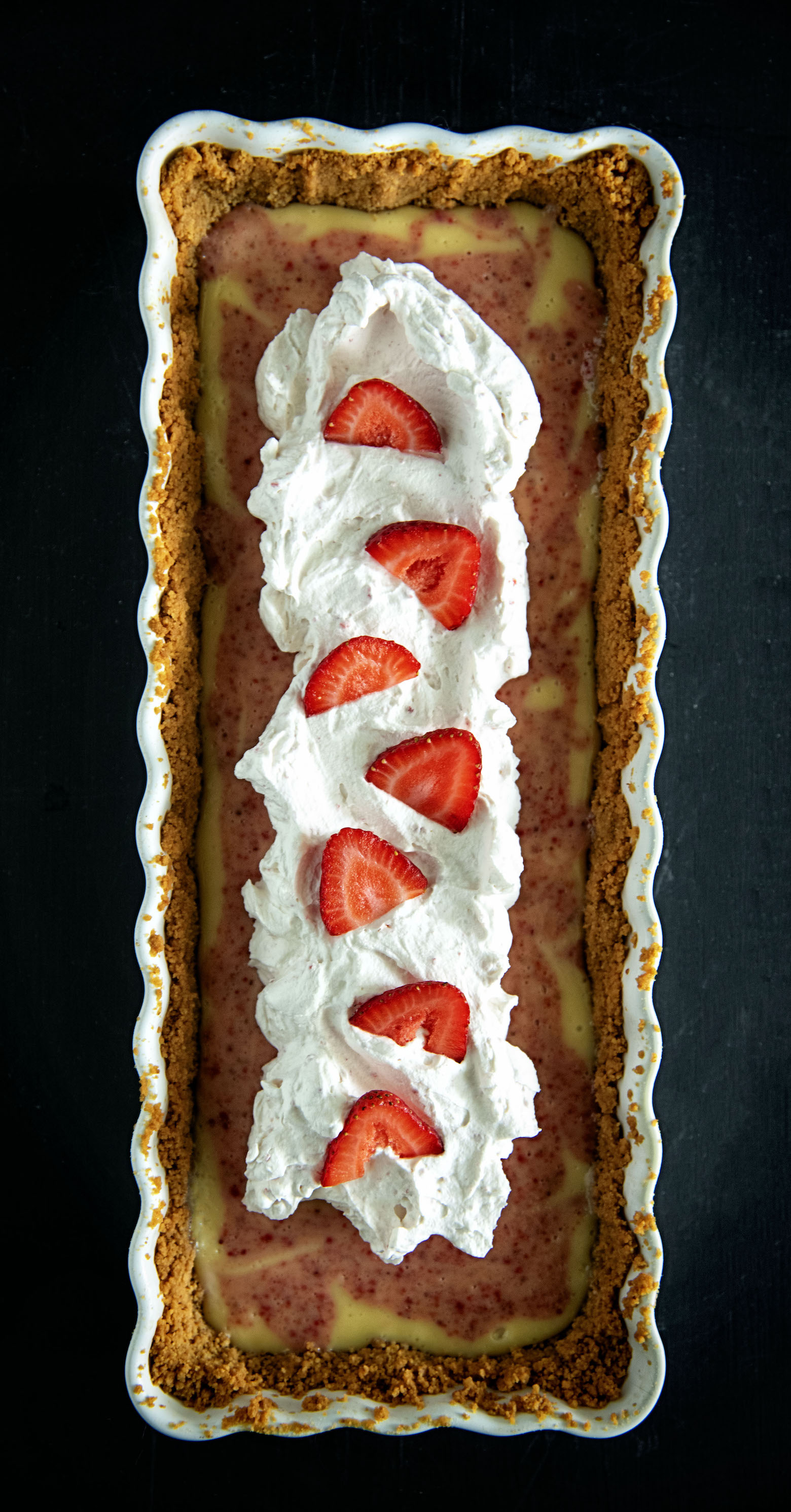Strawberry Key Lime Tart