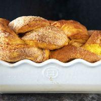 Cinnamon Sugar Pumpkin Brioche Twist
