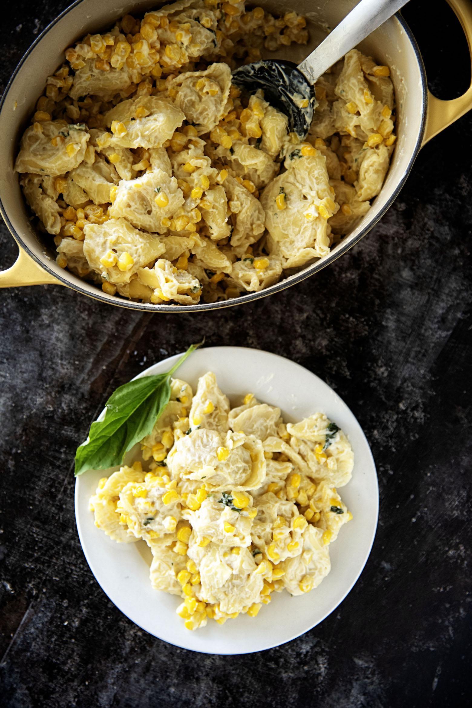Ricotta Corn Lemon Cheese Tortellini
