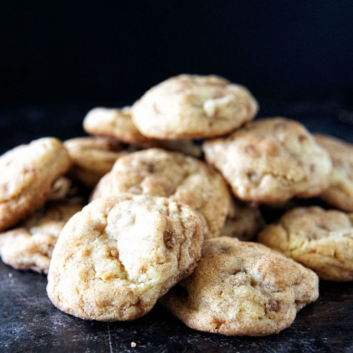 Apple Praline Snickerdoodles