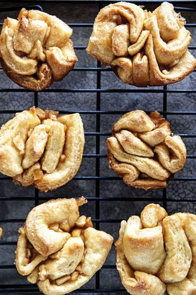 Cinnamon Sugar Apple Babka Buns