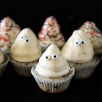 Ghost High Hat Cupcakes
