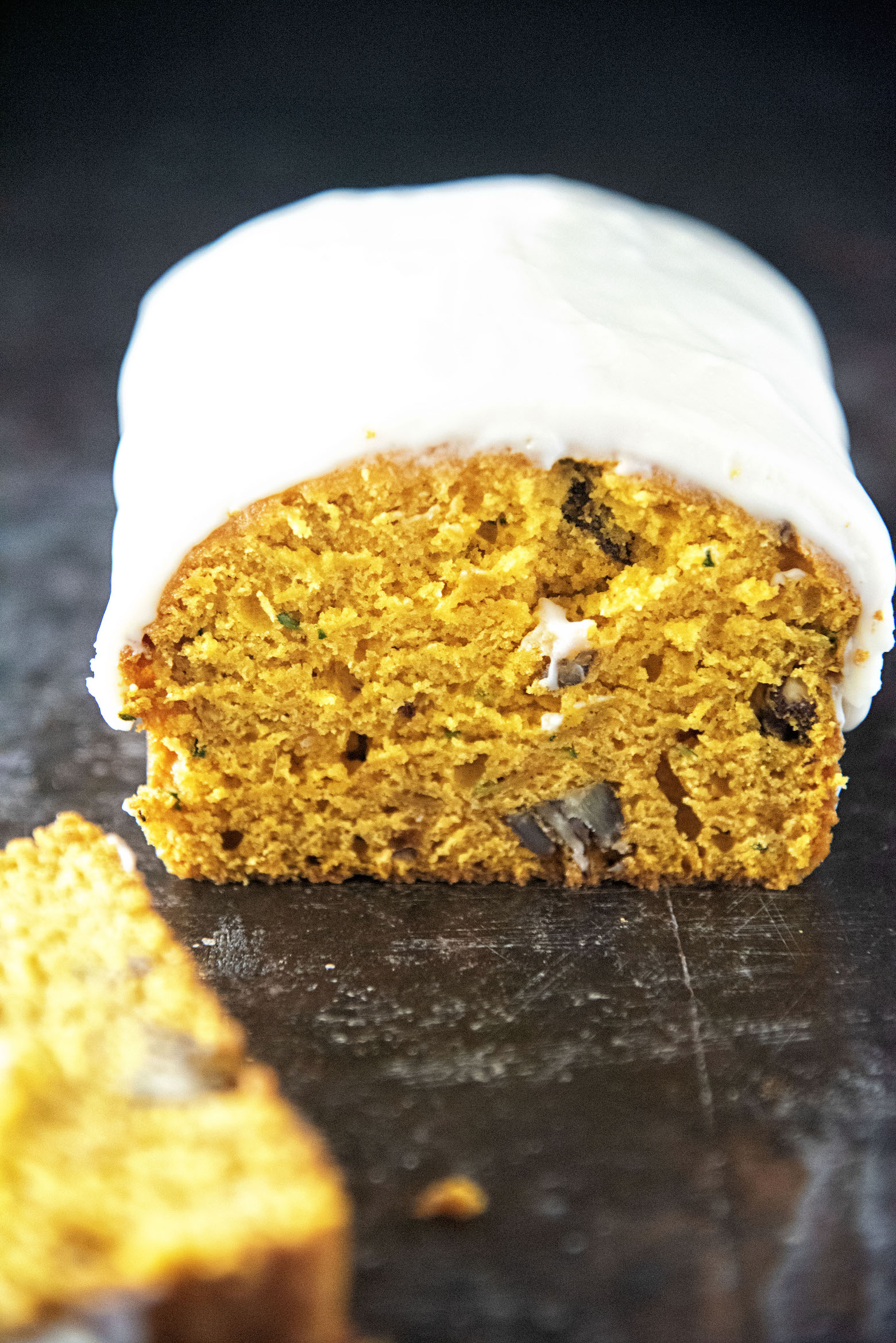 Maple Pumpkin Zucchini Bread