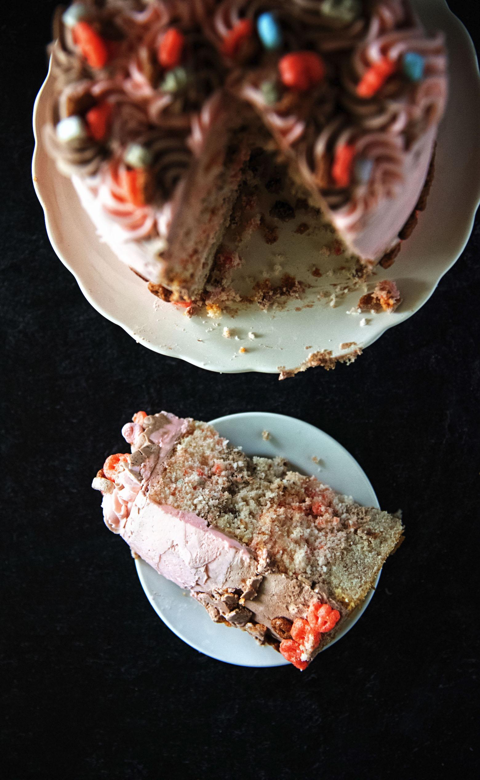 Monster Mash-Up Layer Cake