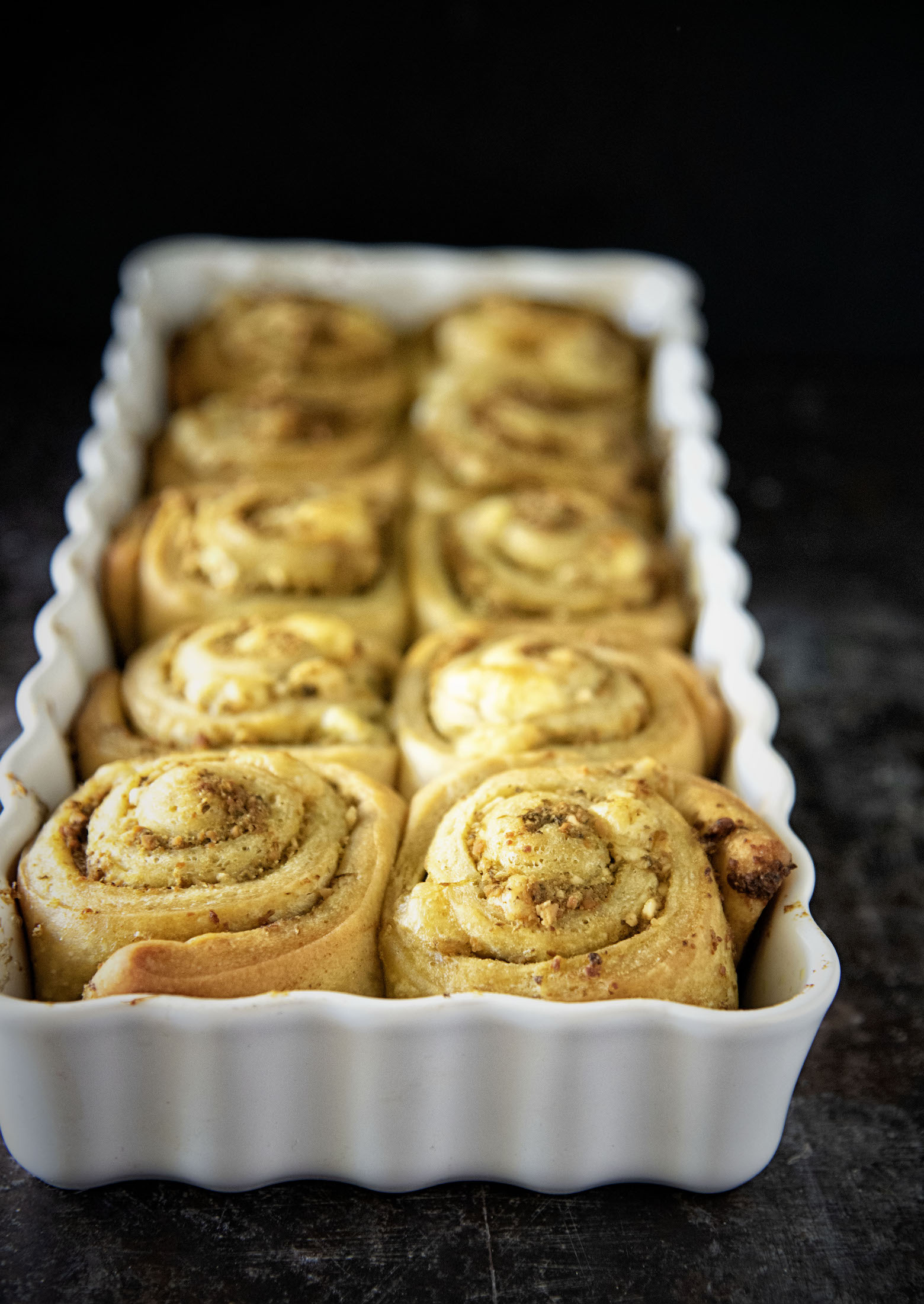 Pesto Cheese Pinwheel Rolls