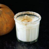 Pumpkin Spice Latte Milk Punch