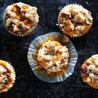Sweet Potato Pecan Crumb Muffins